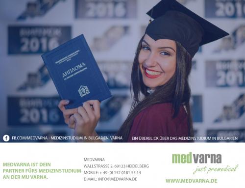 MedVarna ist Dein Partner fürs Medizinstudium an der MU Varna.